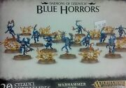 Warhammer 40k And Age Of Sigmar Daemons Of Tzeentch Blue Horrors 20 New Sealed