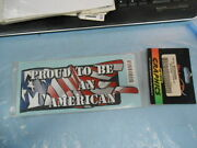 Stickerpoint Hi-tech Graphics Decal Sticker Proud To Be An American St205009