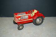 Rare 1950and039s And039gamaand039 800 E/10 Electric Red Tractor