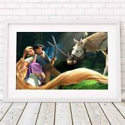 Tangled - Disney Rapunzel Poster Picture Print Sizes A5 To A0 Free Delivery