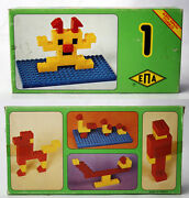 Rare Vintage 70and039s Epa Bricks No1 Building Toy Made In Greece Greek New Mib