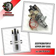Mini Electronic Distributor Viper Coil Ht Leads And Plugs 998 1100 1275cc