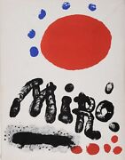 Limited Edition No. 363 Miro Recent Paintings Book With 3 Original Lithograph
