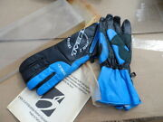 New Oneal Cruise Control 2 Adult Gloves Size 12 Blue / Black 0484 B