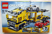 Rare 2009 Lego Creator 6753 Highway Transport 3 In 1 Sealed Contents Incomplete