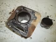 1997 Honda Fourtrax 300 4wd Engine Jug Cylinder With Piston Stock Bore