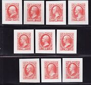 Us O15p2-o24p2 Interior Department Official Roosevelt Proof Set Vf-xf-003