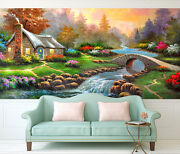 3d Fairy Tale Home 110 Wall Paper Print Wall Decal Deco Indoor Wall Murals
