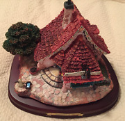 New Wdcc Enchanted Places Pinocchio Geppetto's Toy Shop With 3 Miniature Figures