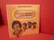 Smokey Robinson And The Miracles Anthology New Sealed Original Motown Soul 3 Lp