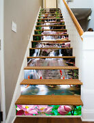 3d Stone Fish 245 Stair Risers Decoration Photo Mural Vinyl Decal Wallpaper Us