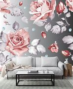 3d Huge Flowers Leaves 566 Wall Paper Print Wall Decal Deco Indoor Wall Murals