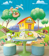 3d Cheerful Animals 4554 Wall Paper Print Wall Decal Deco Indoor Wall Murals