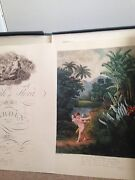 Complete Hardcover Set Of The Temple Of Flora By Robert John Thornton. 32 Plates