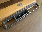 Nos Oem Ford 1990 1991 1992 Lincoln Mark Vii 7 Dash Bezel Lsc