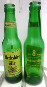 2 Same 1955 Berkshire Ale 8 Oz. Acl Beer Bottles Old Reading Brewery Reading Pa