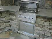 Lazy Man Barbecue - Three Broiler Burners - Built In Grill Propane Model