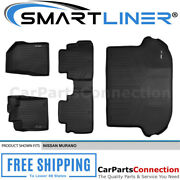 Smartliner All Weather Floormats For Nissan Murano 15-17 Black A0173/b0173/d0173