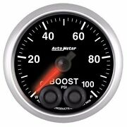Fits Ford Dodge Chevy Etc Auto Meter Elite Series Boost Gauge 0-100psi.