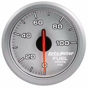 Fits Ford Dodge Chevy Auto Meter Silver Airdrive Series Fuel Pressure Gauge.