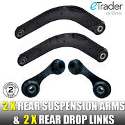 Vauxhall Vectra C Rear 2 Suspension Arms Inc Bushes And Stabiliser Drop Links Link
