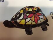 Quoizel Lamp Turtle Stained Glass Lampshade Light Shade Colorful New