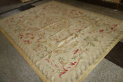 Fpastel Antique Light Color Aubusson Area Rug French Shabby Chic Floor Carpet 3