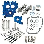 Sands 585ez Chain Easy Start Cam Camchest Kit W/ Pushrods Oil Pump Plate Harley 99