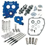 Sands 509c Chain Drive Cam Camchest Kit W/ Pushrods Oil Pump Plate Harley 99-06