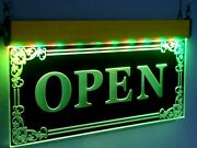 Open Led Signs Bar Neon Light Bright Animated Flashing Color Pub Business Open