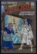 Wonder Woman 195 Cover Painting Plus Approval Proof And File Copy Comic 1971 Diana