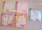 Sailor Moon Memorial Laser Disc 1 To 5 With Collectible Cards