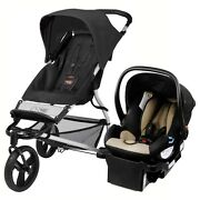 Mountain Buggy Mini Stroller And Protect Car Seat Black Travel System Free Ship