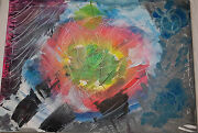 Universal Heart Energy Abstract Art Painting For Meditation And Happiness