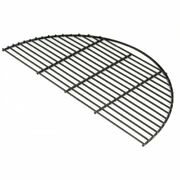 Big Green Egg Charcoal Grill Xl 1/2 Cooking Grate Porcelain Coated Grid Hm24p