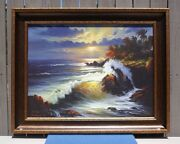 William Deshazo S/n Limited Edition Print On Canvas 67 Of 250 Pacific Dreams