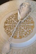 And Co. Sterling Silver Berry Serving Spoon John Polhamus Excellent Rare
