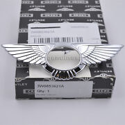 Genuine Bentley Continental Gt Flying Spur Badge Front Metal Wings 3w0853621a