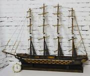 Vintage Spanish And039fragata Espanola Ano 1780and039 42 In 107 Cm Model Ship [pl3447]