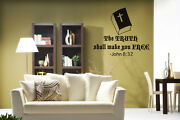 The Truth Shall Make You Free - Wall Decal Stickers