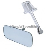 Interior Rear View Mirror Head And Arm Bracket Set For 1960-1971 Chevy Truck