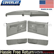 Coverlay Dash Cap Door Panel Light Gray 12-108cw-lgr Power Window/non Slide Lock