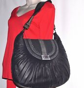 3,700 New Authentic Christian Dior Collection Plisse Pleated Leather Bag Italy