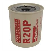 Racor R20p Fuel Filter/water Separator Rep. Element For 230r 30 Gph 30 Micron Md