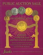 Stackand039s Ancient Foreign And United States Coins Globus And Shulman Collection 1998
