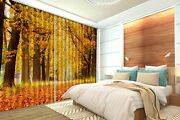 3d Road Shatter Blockout Photo Curtain Printing Curtains Drapes Fabric Window Au