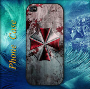 Resident Evil Umbrella Pictorial Hard Case For Iphone And Samsung