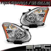 Hid W/o Kit Headlights For 2008-2015 Nissan Rogue Select - Left Right Sides Pair