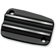 Covingtons Customs Black Finned Front Clutch Master Cylinder Cover Harley 17-19
