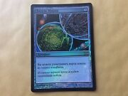 Russian Foil Crucible Of Worlds 10th Edition Extremely Nice Mtg Magic Card